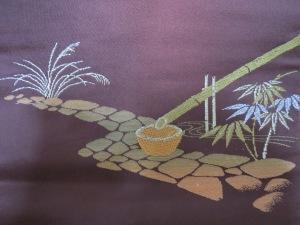 Bamboo in a utilitarian setting.
