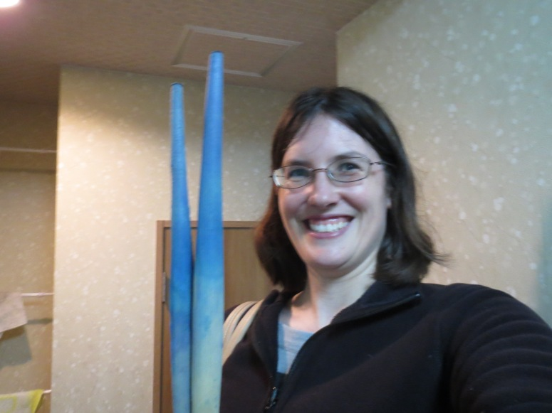 Me and my giant chopsticks!