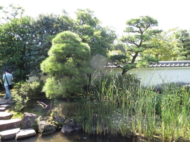 kokoen gardens, right next to Himeji castle.
